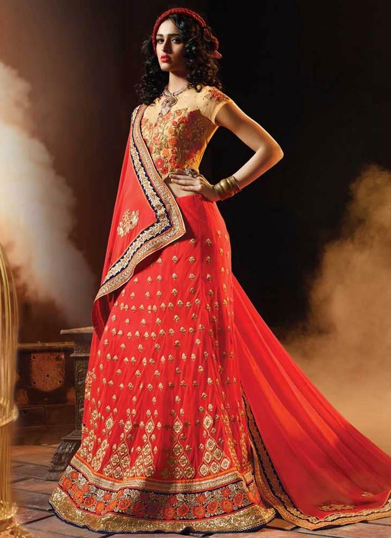Marvelous Sequins Work Wedding Lehenga Choli