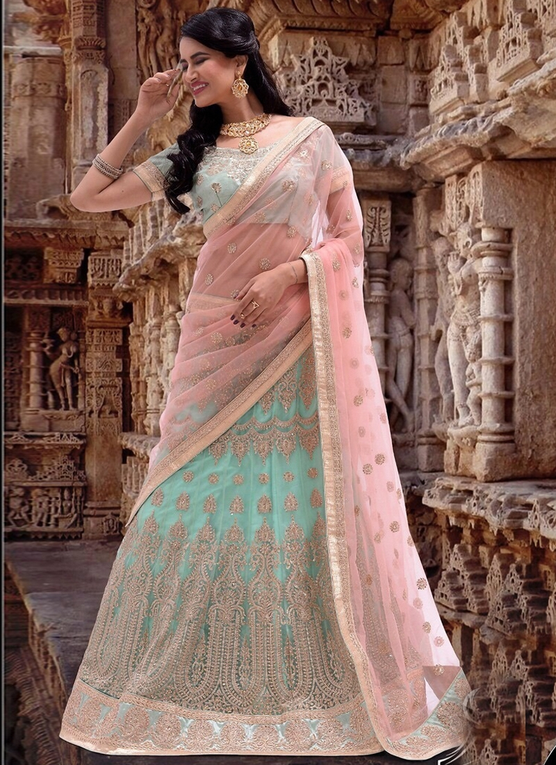 Masterly Booti Work Bridal Lehenga Choli