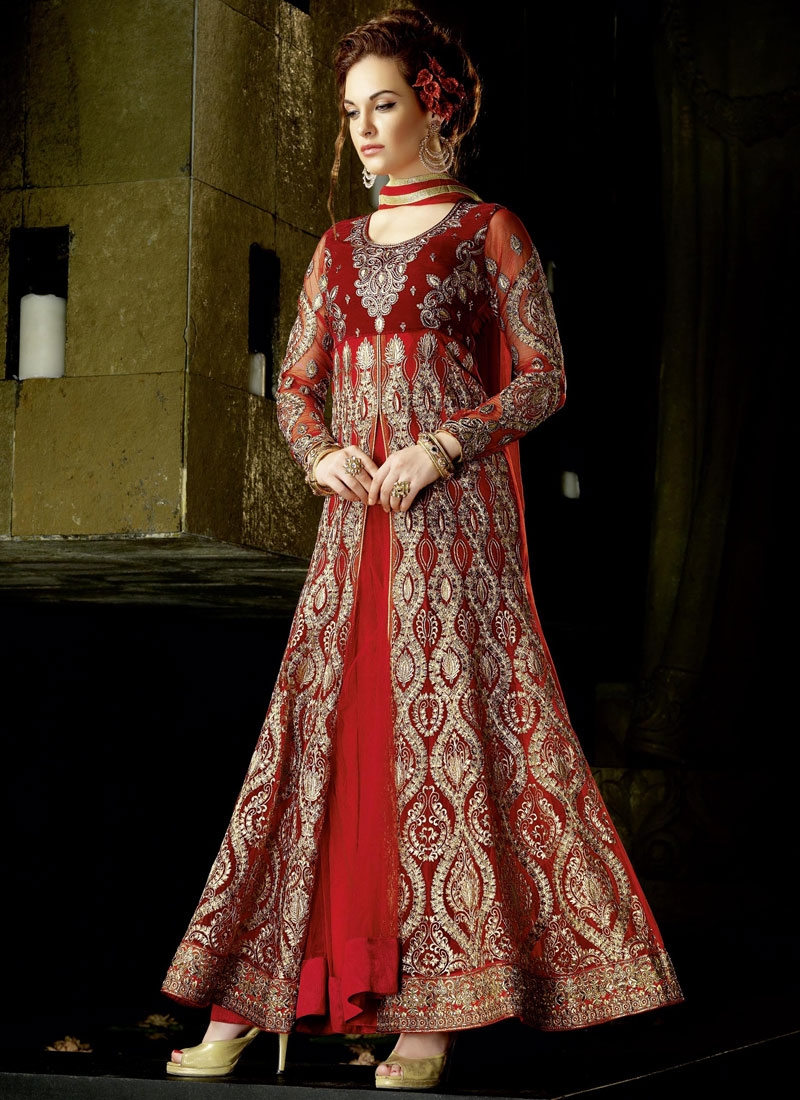Masterly Embroidery Work Wedding Salwar Suit