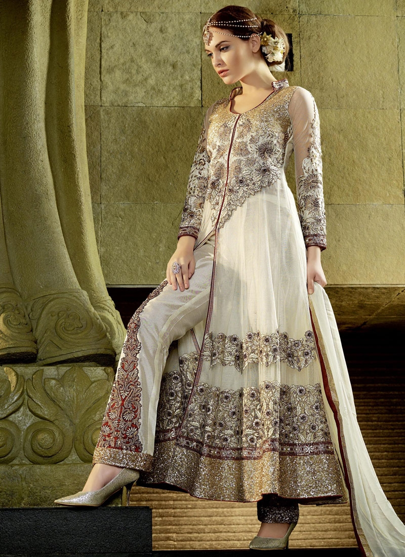Masterly Patch Border Work Designer Salwar Suit