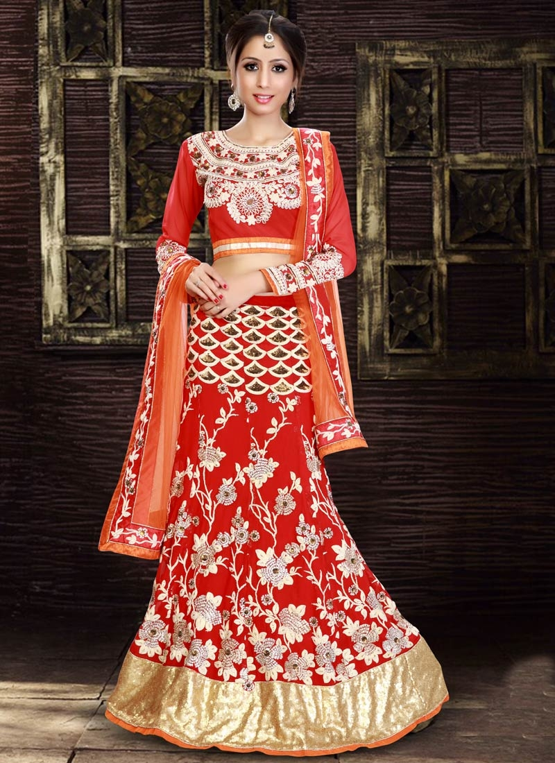 Masterly Resham And Sequins Work Wedding Lehenga Choli