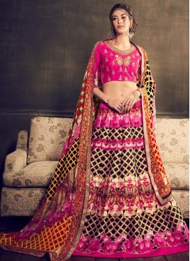 Masterly Rose Pink Color Designer Lehenga Choli