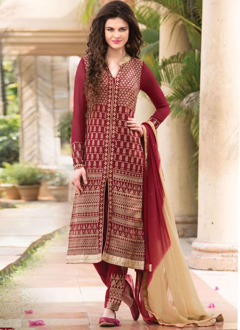 b1e6260b73 Mesmeric Embroidery Work Designer Salwar Suit