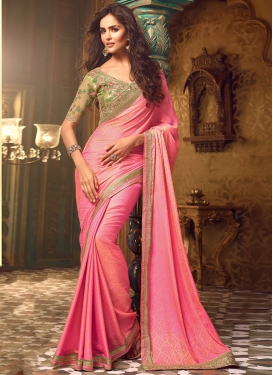 Mesmeric Silk Designer Traditional Saree For Ceremonial