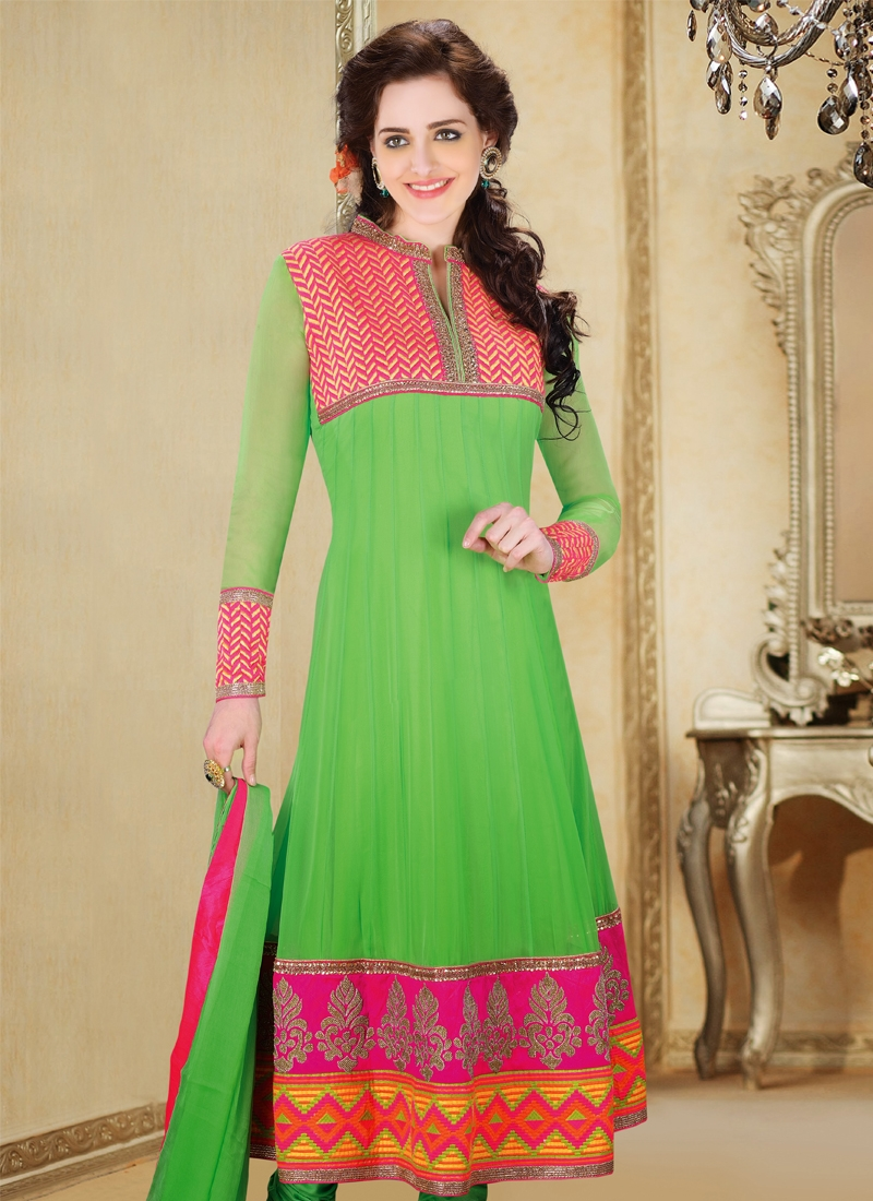 Mesmerizing Georgette Readymade Party Wear Suit