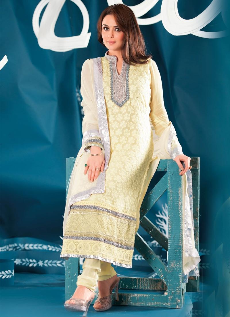 Miraculous Bead Enhanced Party Wear Salwar Suit