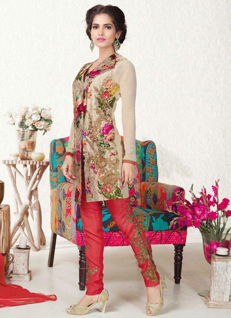 Miraculous Resham Work Pant Style Designer Salwar Suit