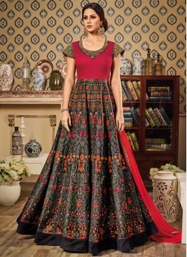 Mod  Long Length Anarkali Suit For Ceremonial