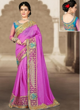 Modern Designer Contemporary Saree For Festival