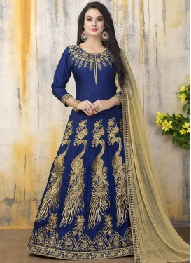 Modernistic Long Length Anarkali Suit For Festival