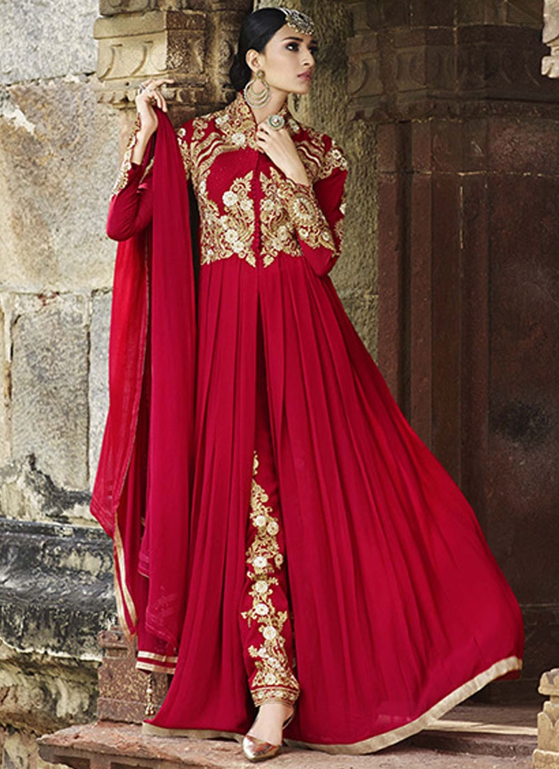 Modernistic Stone Work Pant Style Designer Salwar Suit