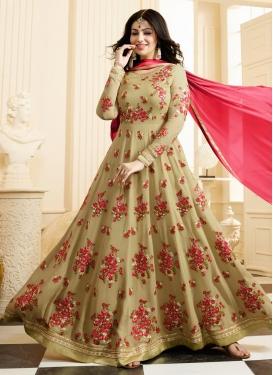 Modest Ayesha Takia Trendy Kalidar Salwar Kameez For Festival