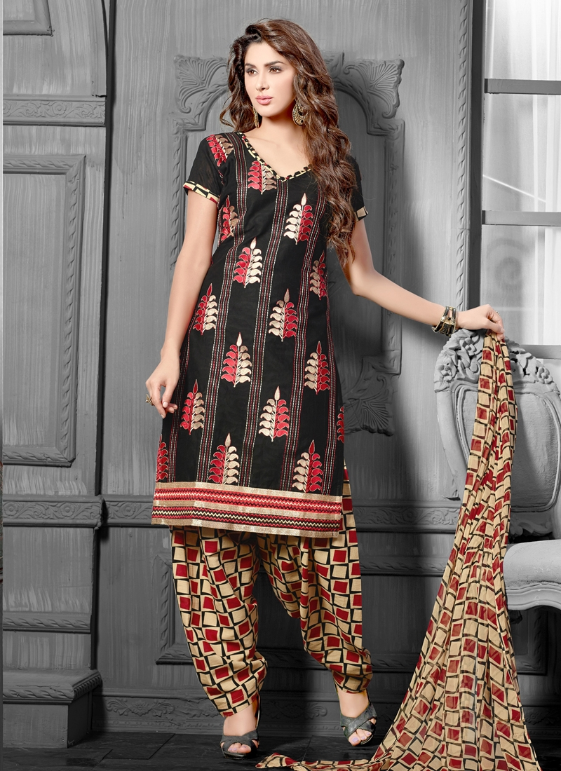 Modish Booti Work Casual Suit