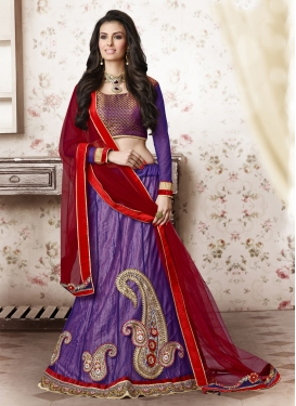 Modish Patch Border Work Party Wear Lehenga Choli