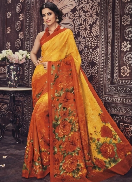 Monumental  Art Silk Trendy Saree For Casual