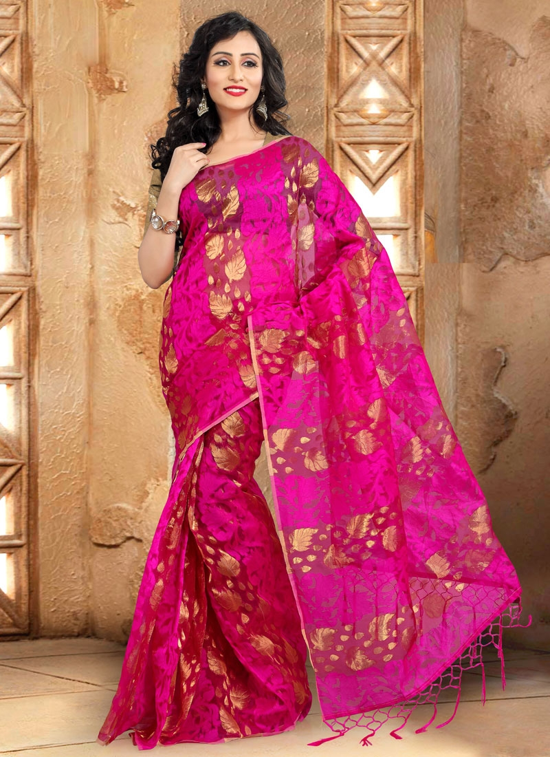 Monumental Banarasi Silk Casual Saree