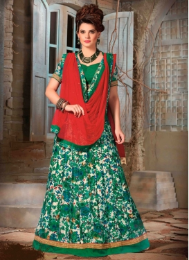 Monumental Printed Party Wear Lehenga Choli