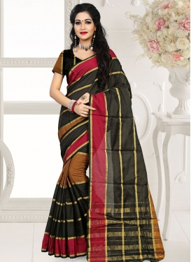 Mystic Cotton Silk Casual Saree