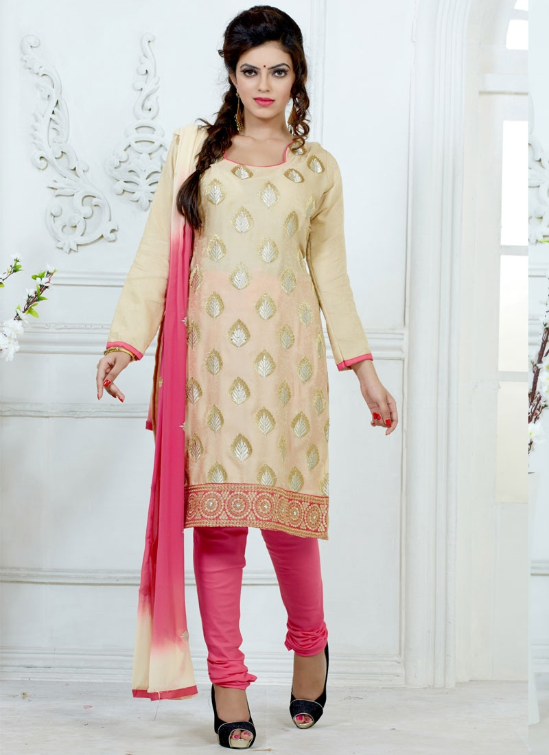 Mystic Lace Work Casual Salwar Suit