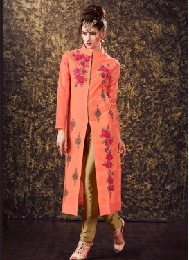 Mystical  Embroidered Work Readymade Suit