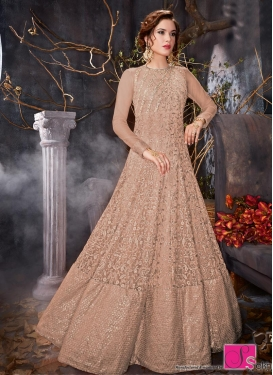 Net Anarkali Salwar Kameez For Ceremonial