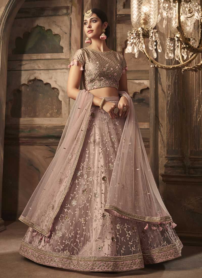 800d4b2fc0 Shop Net Beads Work Trendy Lehenga Choli Online