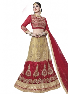 Net Booti Work Trendy Lehenga