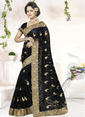 Net Contemporary Style Saree