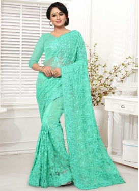 Net Designer Contemporary Saree