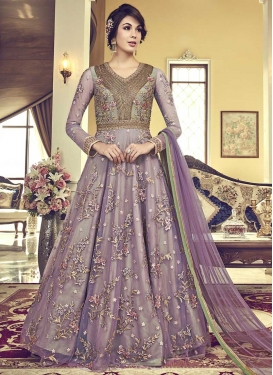 Net Floor Length Designer Salwar Suit