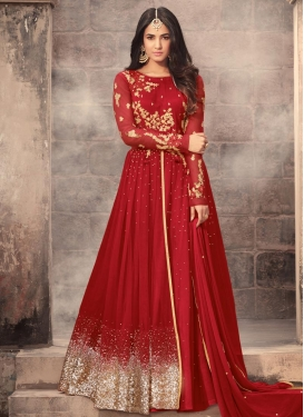 Net Layered Designer Salwar Suit