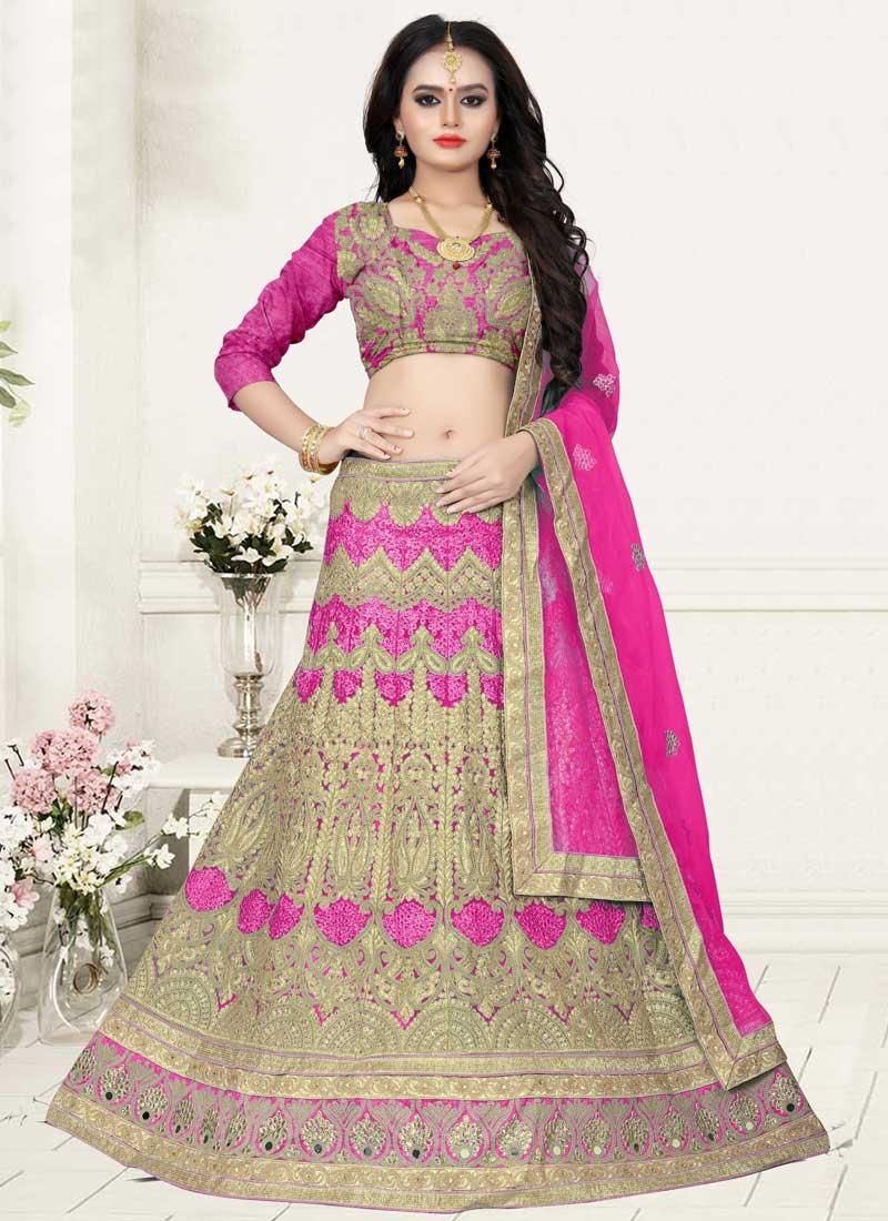Net Lehenga Choli For Bridal