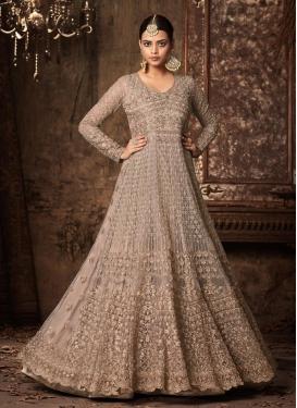 Net Long Length Anarkali Salwar Suit For Festival