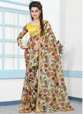 Net Saree For Casual
