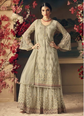 Net Sharara Salwar Suit