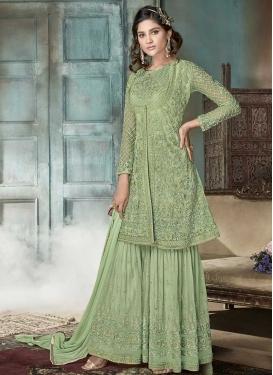 Net Sharara Salwar Suit For Festival