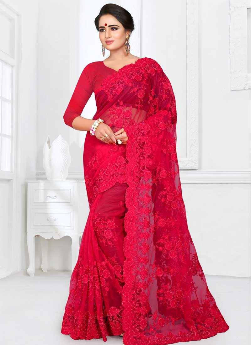 Net Traditional Designer Saree