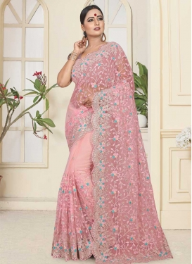Net Traditional Designer Saree