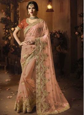 Net Traditional Designer Saree For Bridal