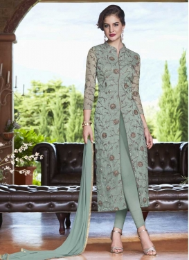 Net Trendy Churidar Salwar Kameez