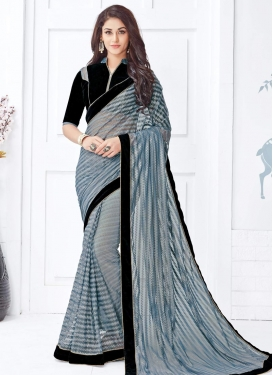 Net Trendy Classic Saree For Ceremonial
