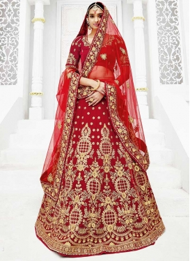 Net Trendy Lehenga For Bridal