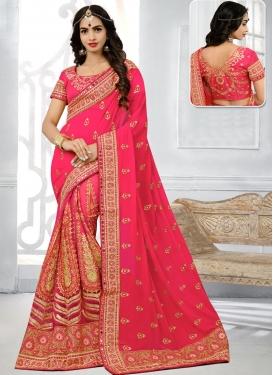 Net Trendy Saree For Bridal