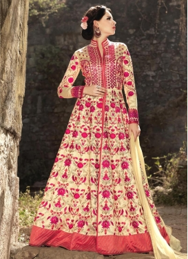 Nice  Floor Length Designer Salwar Suit