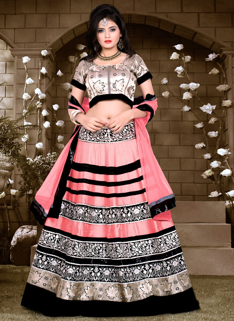Nice Patch Border Work Banglori Silk Designer Lehenga Choli