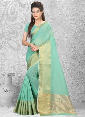 Nice  Resham Work Classic Designer Saree