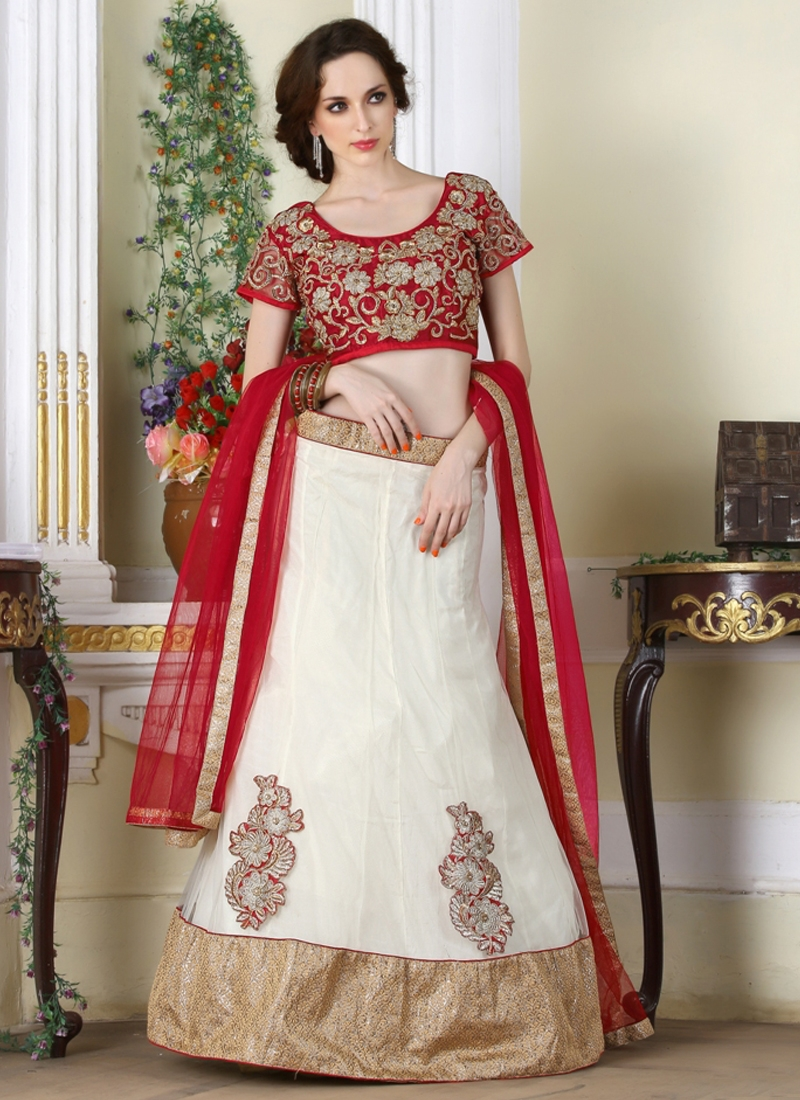 Noble Patch Border Work Party Wear Lehenga Choli