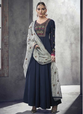 Nylon Readymade Designer Gown