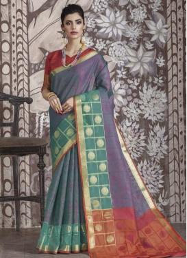 Nylon Silk Classic Saree