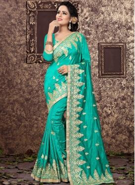 Observable Art Silk Classic Saree
